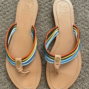 Tory Burch Colorful Sandals size 8